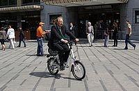 EU commissie beproeft e-bike