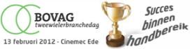 Succes binnen handbereik op BOVAG Tweewielerbranchedag 2012