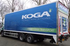 KOGA levert voortaan met hybride truck