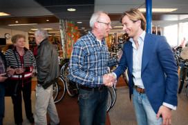 Afscheid René Van Ruiten, winkels naar Hans Struijk Fietsen