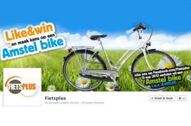 Fietsplus start 'Like & win' actie op Facebook
