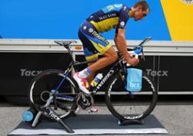 Tacx Cycling app voor trainen met tablet