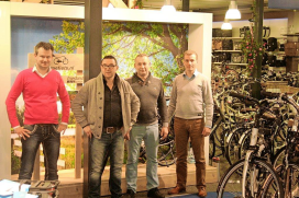Shop-in-shop van Leasefiets.nl