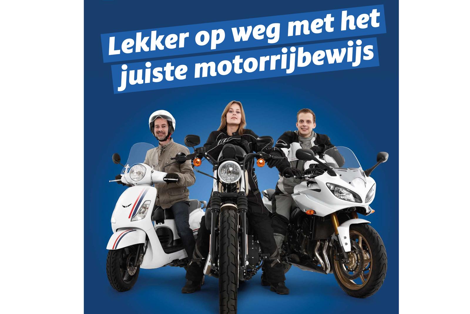 Voorlichtingscampagne 125cc motorrijbewijs