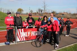 NFP schenkt fiets aan Ronald McDonald Centre