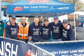 Topprestatie Bike Totaal-team Alpe d'HuZes 2014
