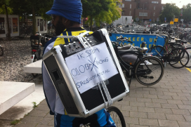 Rotterdammers strijden voor BMX-parcours