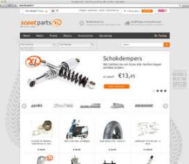 Scootparts.nl voortgezet door Bart Willems