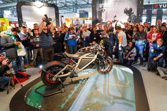 Harley-Davidson komt met elektrische motor