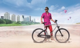 Cortina blau de hufterproof stadsfiets tweewieler for Minimalistische fiets