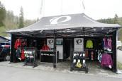 Pearl Izumi Pop Up store bij fiets- en hardloopevenementen
