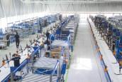 Met derde productielijn kan Gazelle 1.000 e-bikes per dag produceren