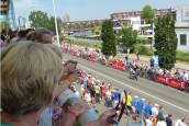 Fietsindustrie aanwezig bij start Tour de France