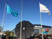 Koga plaatst station zonne-energie bij bedrijf