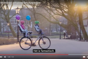 'Google introduceert zelfrijdende fiets'