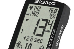 Sigma Sport fietscomputers met veel display en weinig behuizing