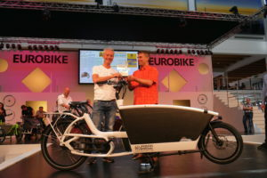 Elektrische bakfiets op Eurobike in de prijzen