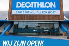 Negende Decathlon in binnenstad Eindhoven