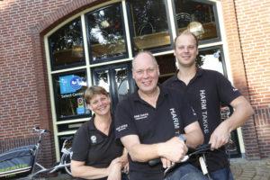 Erna, Harm en Martijn Takke. Foto Henk Riswick