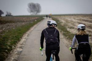 BBB Cycling 'schild tegen de kou'