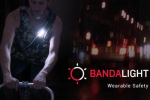 Crowdfunding actie voor nieuwe fietslamp Bandalight