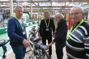 Elektrische fietsen testen in De Fietser