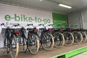 Fietsdeelsysteem E-bike to go