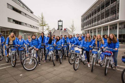De pilot start met 80 fietsen op 7 verschillende locaties in Maastricht. Foto Nextbike Marco Reeuwijk