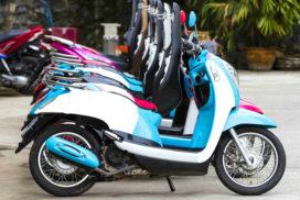 Oude scooters verdwijnen uit straatbeeld