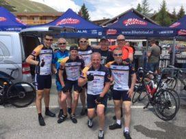 Team Bike Totaal fietst veel geld bij elkaar in Alpe d'HuZes