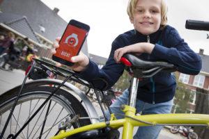 Niet meer bellen op de fiets met slim slot KPN