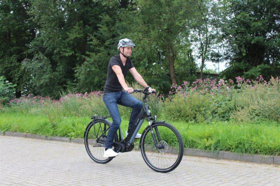 E-bikemanufaktur 8CHT met 48V Conti middenmotor.