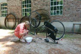 Eerste NK fietsbanden plakken in september