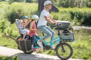 Tern vouw-e-bike voor het hele gezin