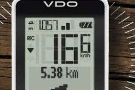 VDO M7 GPS fietscomputer zonder sensoren op wiel