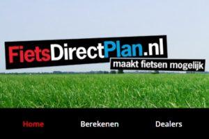 Nieuwe financieringsvorm FietsDirectPlan