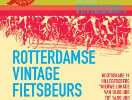 Vintage fietsbeurs in teken van Raleigh