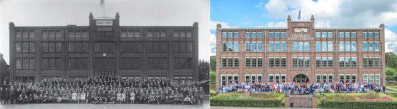 De oude en nieuwe foto. Foto Gazelle