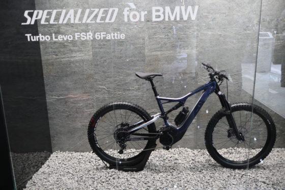 Voor BMW ontwikkelde Specialized Turbo Levo FSR 6Fattie. Foto's RvG