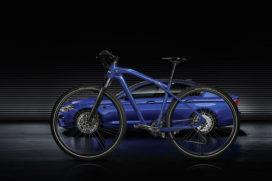 Veel elektrische fietsen op IAA