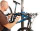 Fiets liften zonder tillen met Bici reparatiestandaard