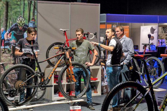Vélovak is een jaarlijkse business-to-business fietsbeurs van de Benelux. Foto Vélovak