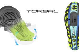 Shimano Torbal fietsschoenen voor natuurlijke voetbeweging