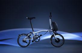 Brompton met e-bikes naar E-Bike Xperience