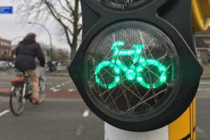 Sneller groen licht voor fietser met SMART-app voor stoplicht