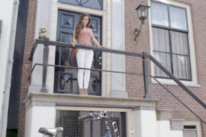 Freebike tv-commercial met Yolanthe