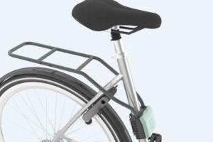 Uitbreiding montage Urban Iki fietsstoeltjes